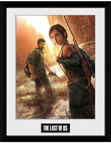 The Last Of Us Key Art Photo encadrée Standard