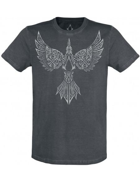 Assassin's Creed Valhalla - Corbeau T-shirt noir