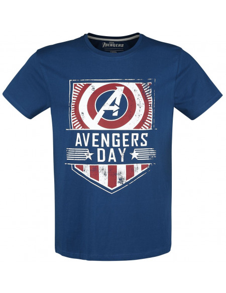 Avengers The Game - Avengers Day T-shirt bleu