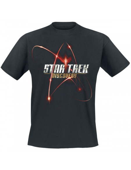 Star Trek Logo Discovery T-shirt noir