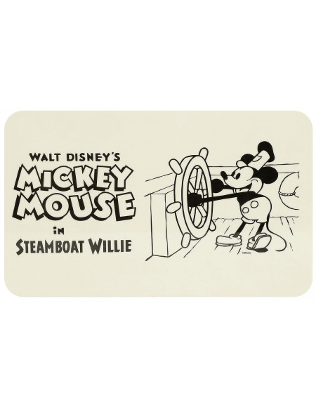 Mickey & Minnie Mouse Steamboat Willie Planche à découper multicolore