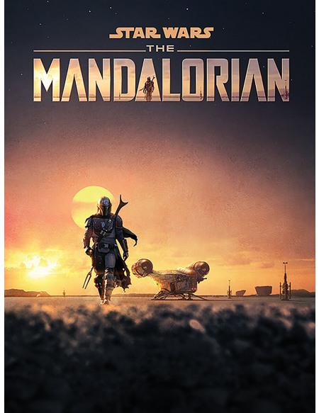 Star Wars The Mandalorian - Dusk Toile imprimée Standard
