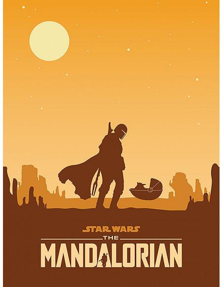 Star Wars The Mandalorian - Meeting Toile imprimée Standard