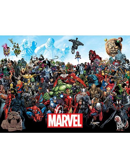 Marvel Universe Toile imprimée Standard