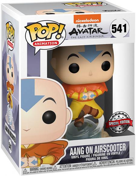 Avatar - Le Dernier Maître De L'Air Aang Sur Scooter Aérien (Édition Chase Possible) - Funko Pop! n°541 Figurine de collection Standard