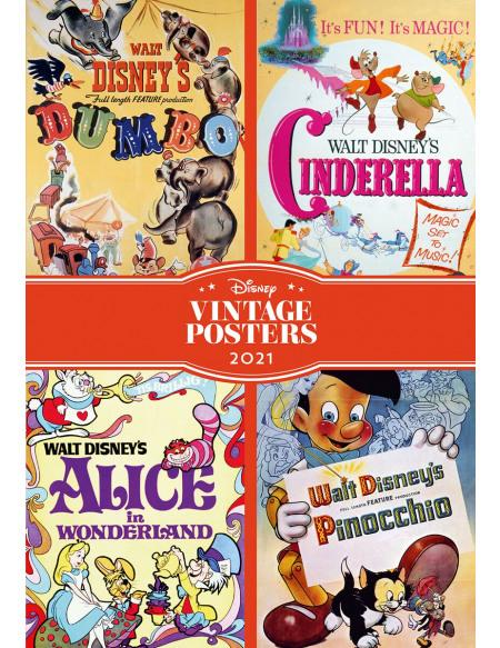 Walt Disney Agenda A5 2021 - Vintage Agenda multicolore