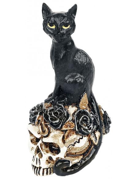 Alchemy England Chat & Crâne : Crâne Miniature Crâne décoratif Standard