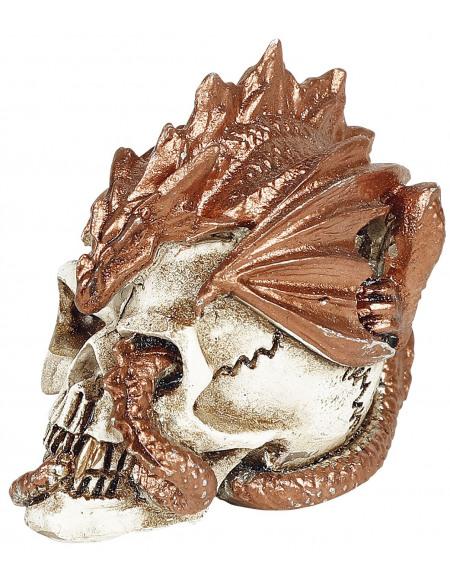 Alchemy England Dragon Gardien De Crâne : Crâne Miniature Crâne décoratif Standard