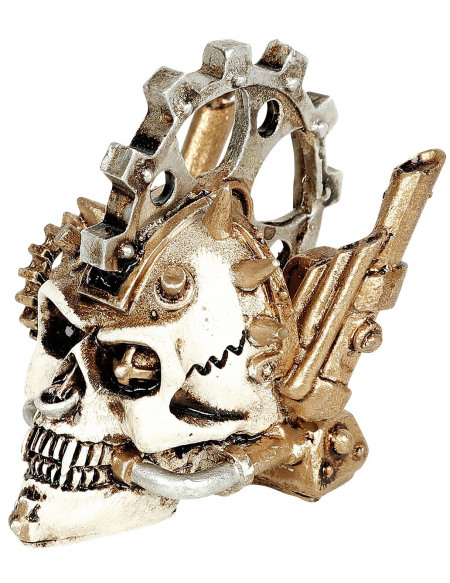 Alchemy England Tête Steam - Crâne Miniature Crâne décoratif Standard