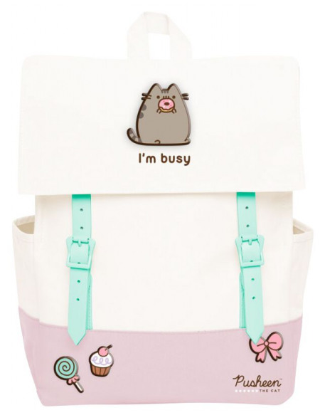 Pusheen I´m busy Sac à Dos multicolore