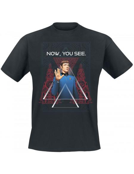 Star Trek Now, You See T-shirt noir