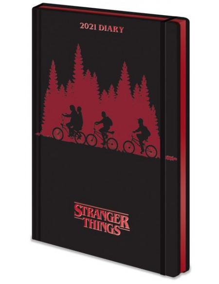 Stranger Things Agenda 2021 Agenda multicolore