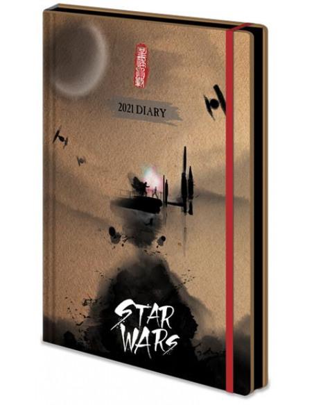 Star Wars Agenda 2021 Agenda multicolore