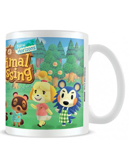 Animal Crossing Lineup Mug blanc