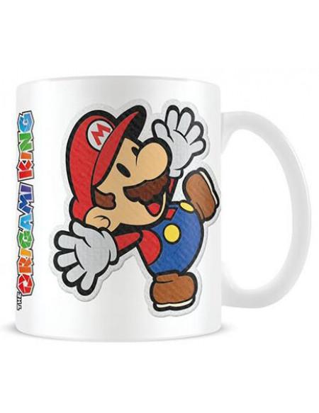 Super Mario Paper Mario - Sticker Mug blanc