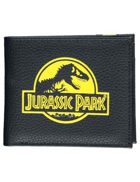 Jurassic Park Incoming T-Rex! Portefeuille noir/jaune