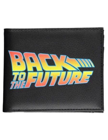 Retour Vers Le Futur Logo Back To The Future Portefeuille multicolore