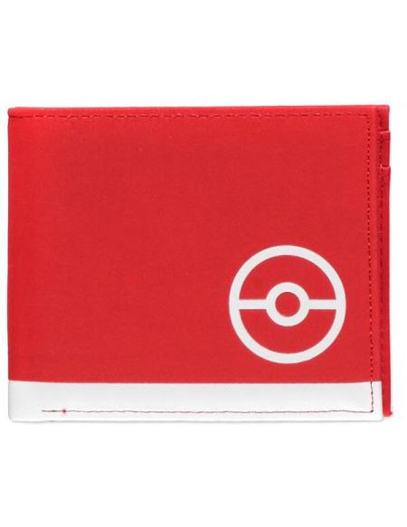 Pokémon Pokémon Trainer Portefeuille rouge/noir/blanc