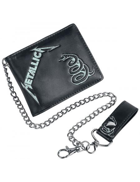 Metallica Black Album Portefeuille Standard