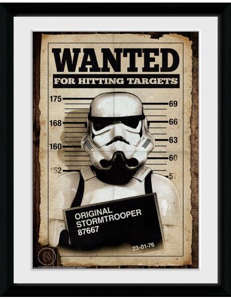 Original Stormtrooper Mug Shot Photo encadrée Standard