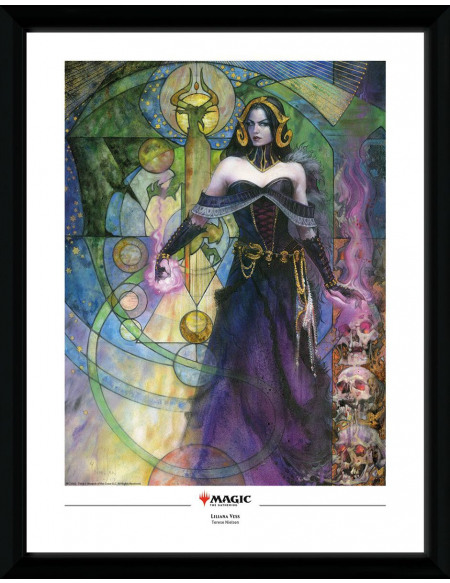 Magic: The Gathering Liliana, Untouched by Death Photo encadrée Standard