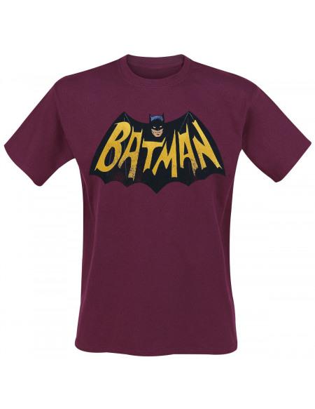 Batman Logo '66 T-shirt rouge