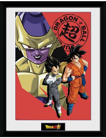 Dragon Ball Dragon Ball Super - Groupe Résurrection Photo encadrée Standard