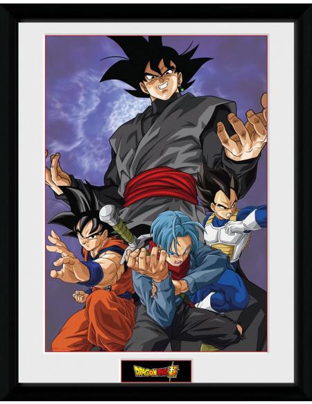 Dragon Ball Dragon Ball Super - Future Group Photo encadrée Standard