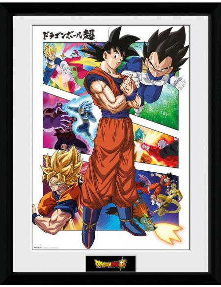 Dragon Ball Dragon Ball Super - Panels Photo encadrée Standard