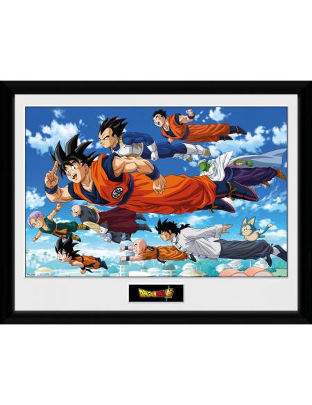 Dragon Ball Super - Flying Photo encadrée Standard