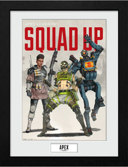 Apex Legends Squad Up Photo encadrée Standard