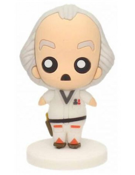 Back To The Future Doc Brown (Figurine Pokis) Figurine de collection Standard