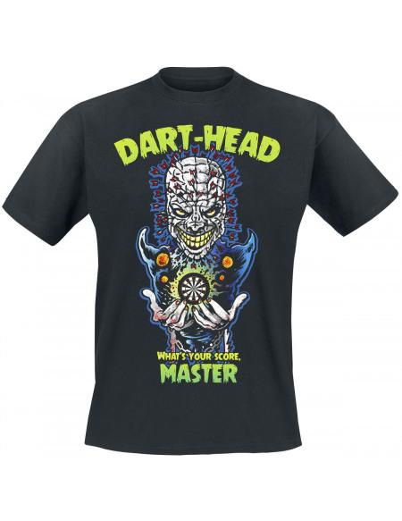 Darts Dart Head T-shirt noir