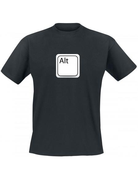 Alt T-shirt noir
