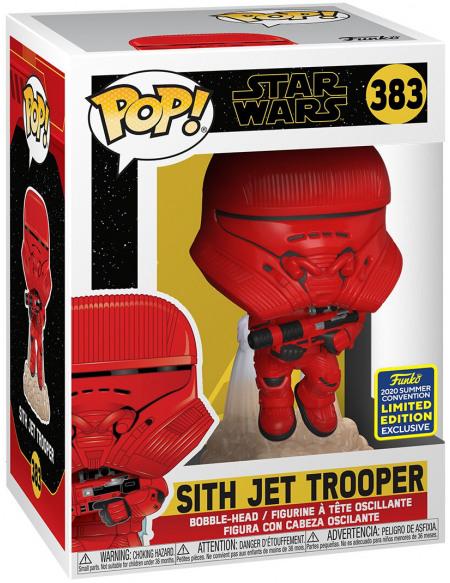 Star Wars SDCC 2020 - Sith Jet Trooper - Funko Pop! n°383 Figurine de collection Standard