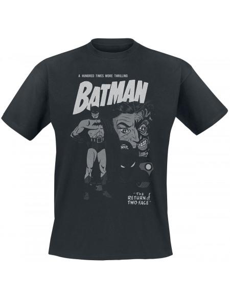 Batman Return Of Two-Face T-shirt noir