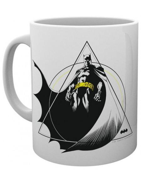 Batman Caped Crusader Mug blanc