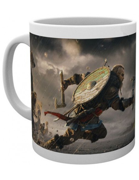 Assassin's Creed Valhalla Mug blanc