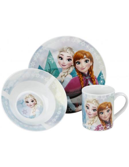 La Reine Des Neiges Set Petit-Déjeuner Set petit déjeuner Standard