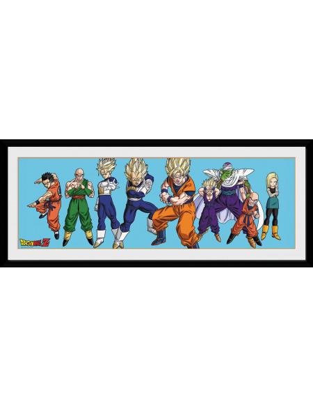 Dragon Ball Dragon Ball Z - Héros Photo encadrée multicolore