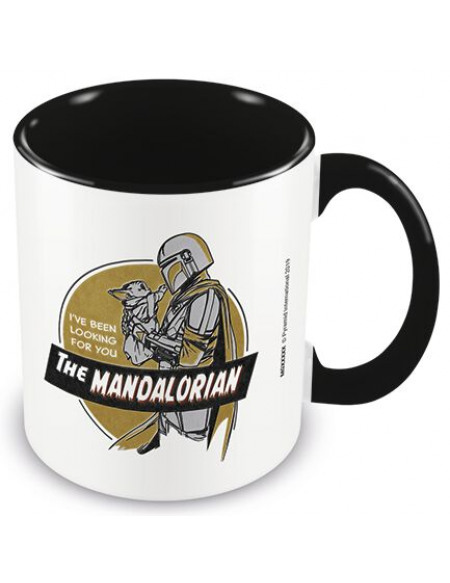 Star Wars The Mandalorian - I've Been Looking For You Mug multicolore