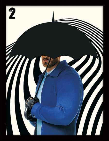 The Umbrella Academy Luther Photo encadrée standard
