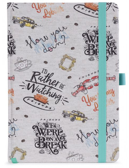 Friends Zitate Cahier multicolore