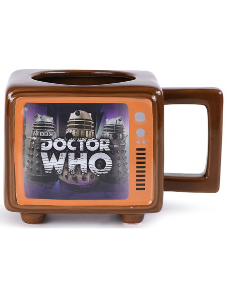 Doctor Who Hide Behind The Sofa - Mug Thermo-Réactif Mug multicolore