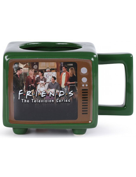 Friends Rather Be Watching - Mug Thermo-Réactif Mug multicolore