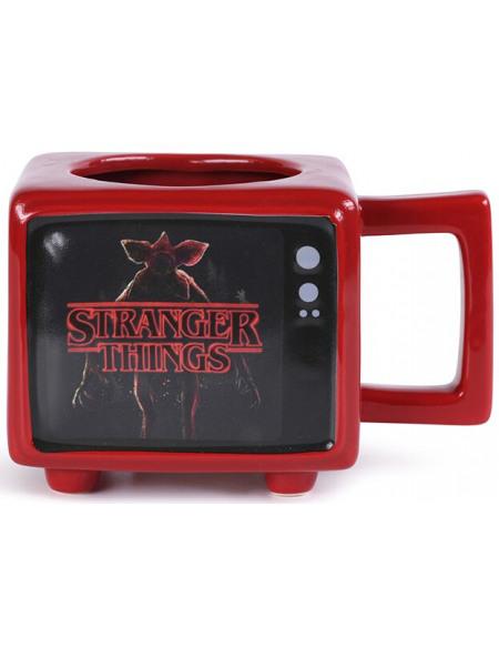 Stranger Things I Survived Hawkins Indiana - Mug Thermo-Réactif Mug multicolore