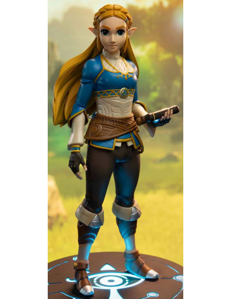 The Legend Of Zelda Breath Of The Wild - Zelda (Édition Collector) Statuette multicolore